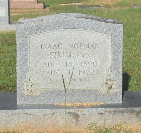 SIMMONS, ISAAC NORMAN - Cass County, Texas   ISAAC NORMAN SIMMONS - Texas Gravestone Photos