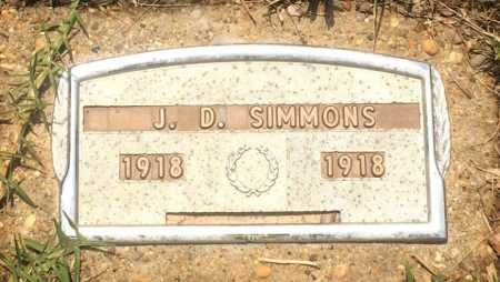 SIMMONS, J D - Cass County, Texas | J D SIMMONS - Texas Gravestone Photos