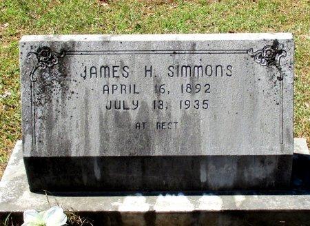 SIMMONS, JAMES H. - Cass County, Texas | JAMES H. SIMMONS - Texas Gravestone Photos