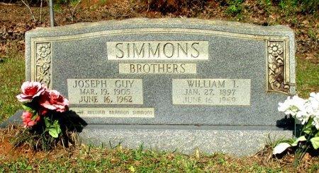 SIMMONS, WILLIAM I. - Cass County, Texas | WILLIAM I. SIMMONS - Texas Gravestone Photos