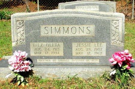 SIMMONS, INEZ OLETA  - Cass County, Texas | INEZ OLETA  SIMMONS - Texas Gravestone Photos