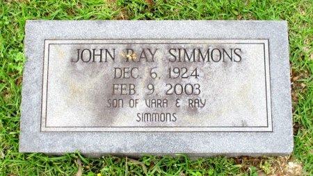 SIMMONS, JOHN RAY  - Cass County, Texas | JOHN RAY  SIMMONS - Texas Gravestone Photos