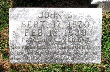 SIMMONS, JOHN B. - Cass County, Texas | JOHN B. SIMMONS - Texas Gravestone Photos