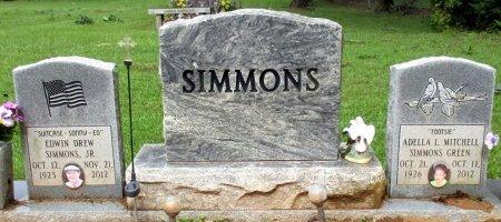 SIMMONS, ADELLA L.  - Cass County, Texas | ADELLA L.  SIMMONS - Texas Gravestone Photos