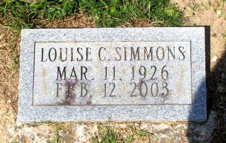 SIMMONS, LOUISE  - Cass County, Texas   LOUISE  SIMMONS - Texas Gravestone Photos
