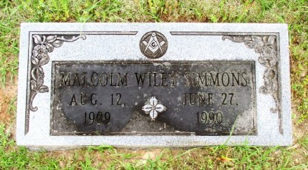 SIMMONS, MALCOLM WILEY  - Cass County, Texas | MALCOLM WILEY  SIMMONS - Texas Gravestone Photos