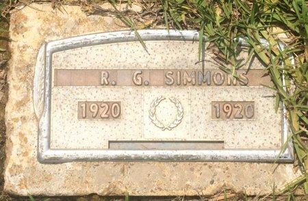 SIMMONS, R G - Cass County, Texas | R G SIMMONS - Texas Gravestone Photos