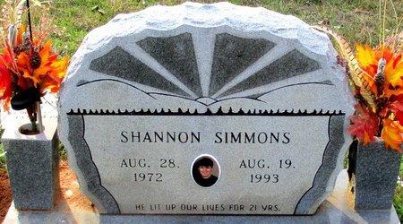 SIMMONS, SHANNON CLARK - Cass County, Texas   SHANNON CLARK SIMMONS - Texas Gravestone Photos