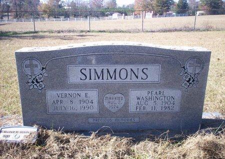 SIMMONS, VERNON E - Cass County, Texas | VERNON E SIMMONS - Texas Gravestone Photos