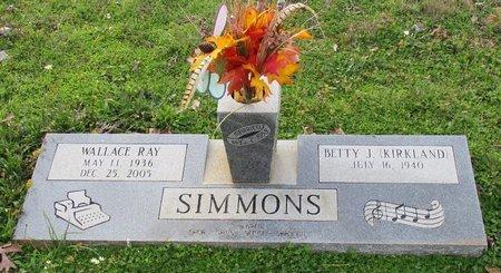 SIMMONS, WALLACE RAY - Cass County, Texas | WALLACE RAY SIMMONS - Texas Gravestone Photos