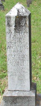 STEGER, M.A. - Cass County, Texas   M.A. STEGER - Texas Gravestone Photos