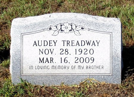 TREADWAY, AUDEY - Cass County, Texas | AUDEY TREADWAY - Texas Gravestone Photos
