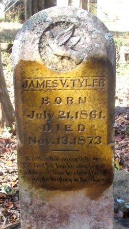TYLER, JAMES V  - Cass County, Texas | JAMES V  TYLER - Texas Gravestone Photos