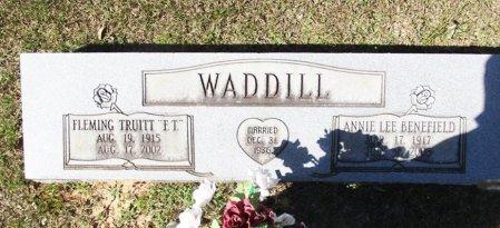WADDILL, ANNIE LEE  - Cass County, Texas   ANNIE LEE  WADDILL - Texas Gravestone Photos