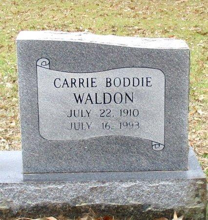 WALDON, CARRIE (CLOSE UP) - Cass County, Texas | CARRIE (CLOSE UP) WALDON - Texas Gravestone Photos