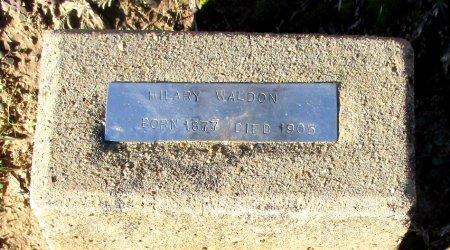 WALDON, HILARY  - Cass County, Texas | HILARY  WALDON - Texas Gravestone Photos