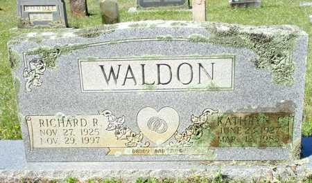 WALDON, RICHARD R. - Cass County, Texas | RICHARD R. WALDON - Texas Gravestone Photos