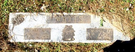 WATTS, EARL W  - Cass County, Texas | EARL W  WATTS - Texas Gravestone Photos