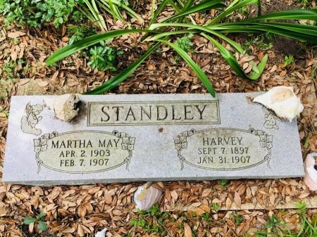 STANDLEY, MARTHA MAY - Chambers County, Texas | MARTHA MAY STANDLEY - Texas Gravestone Photos