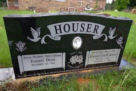 COTTON HOUSER, JIMMIE LOU - Cherokee County, Texas | JIMMIE LOU COTTON HOUSER - Texas Gravestone Photos