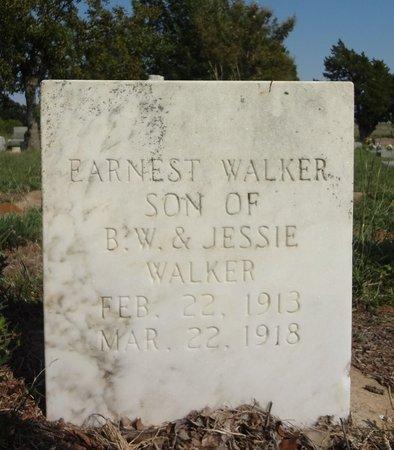 WALKER, EARNEST - Clay County, Texas | EARNEST WALKER - Texas Gravestone Photos