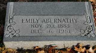 ABERNATHY, EMILY - Collin County, Texas | EMILY ABERNATHY - Texas Gravestone Photos