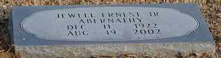 ABERNATHY, JR, JEWELL ERNEST - Collin County, Texas | JEWELL ERNEST ABERNATHY, JR - Texas Gravestone Photos