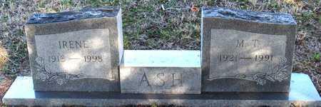 ASH, M. T. - Collin County, Texas   M. T. ASH - Texas Gravestone Photos