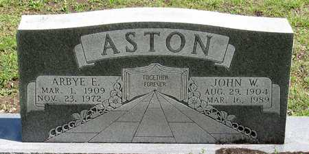 ASTON, JOHN W. - Collin County, Texas | JOHN W. ASTON - Texas Gravestone Photos
