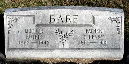 BARE, S. HENRY - Collin County, Texas | S. HENRY BARE - Texas Gravestone Photos