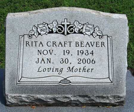 CRAFT BEAVER, RITA - Collin County, Texas | RITA CRAFT BEAVER - Texas Gravestone Photos