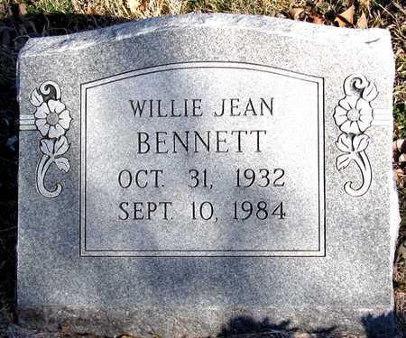 BENNETT, WILLIE JEAN - Collin County, Texas | WILLIE JEAN BENNETT - Texas Gravestone Photos