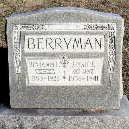 BERRYMAN, BENJAMIN F. - Collin County, Texas   BENJAMIN F. BERRYMAN - Texas Gravestone Photos