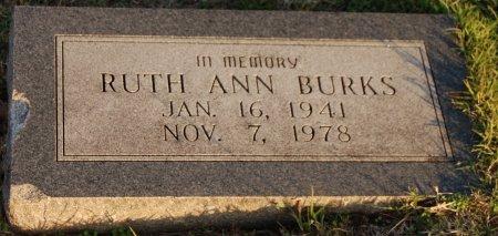 HAGGARD BURKS, RUTH ANN - Collin County, Texas | RUTH ANN HAGGARD BURKS - Texas Gravestone Photos
