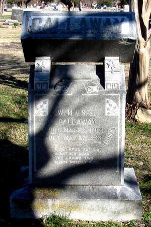 CALLAWAY, W. M. - Collin County, Texas | W. M. CALLAWAY - Texas Gravestone Photos