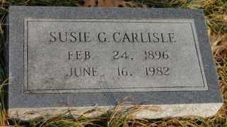 CARLISLE, SUSIE G - Collin County, Texas | SUSIE G CARLISLE - Texas Gravestone Photos
