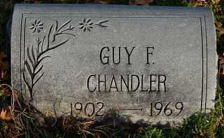 CHANDLER, GUY FRANKLIN - Collin County, Texas | GUY FRANKLIN CHANDLER - Texas Gravestone Photos
