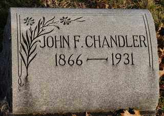 CHANDLER, JOHN FRANKLIN - Collin County, Texas | JOHN FRANKLIN CHANDLER - Texas Gravestone Photos