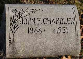 CHANDLER, JOHN FRANKLIN - Collin County, Texas | JOHN FRANKLIN CHANDLER - Texas Gravestone Photos