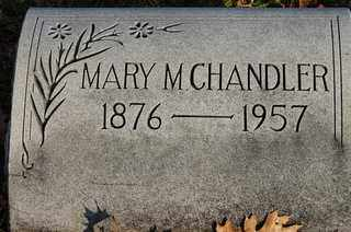 BRYAN CHANDLER, MARY MAHALA - Collin County, Texas | MARY MAHALA BRYAN CHANDLER - Texas Gravestone Photos