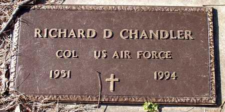 CHANDLER (VETERAN), RICHARD D - Collin County, Texas | RICHARD D CHANDLER (VETERAN) - Texas Gravestone Photos