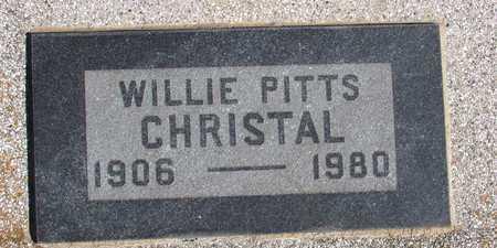 CHRISTAL, WILLIE - Collin County, Texas   WILLIE CHRISTAL - Texas Gravestone Photos
