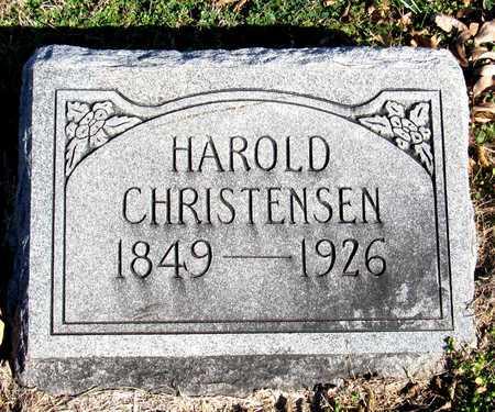 CHRISTENSEN, HAROLD - Collin County, Texas   HAROLD CHRISTENSEN - Texas Gravestone Photos