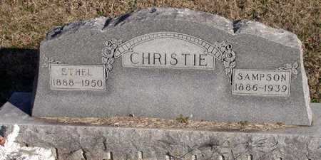CHRISTIE, SAMPSON - Collin County, Texas | SAMPSON CHRISTIE - Texas Gravestone Photos