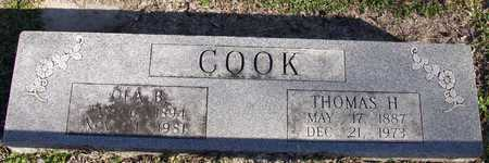 COOK, THOMAS H. - Collin County, Texas | THOMAS H. COOK - Texas Gravestone Photos