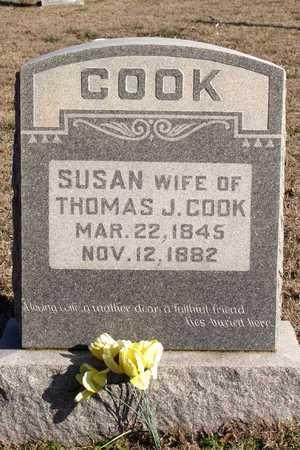 COOK, SUSAN - Collin County, Texas | SUSAN COOK - Texas Gravestone Photos