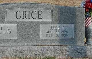 CRICE, JACK R - Collin County, Texas | JACK R CRICE - Texas Gravestone Photos