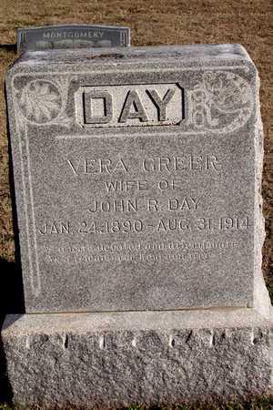 GREER DAY, VERA - Collin County, Texas | VERA GREER DAY - Texas Gravestone Photos