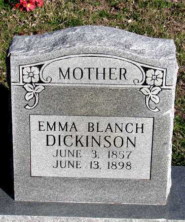 DICKINSON, EMMA BLANCH - Collin County, Texas | EMMA BLANCH DICKINSON - Texas Gravestone Photos