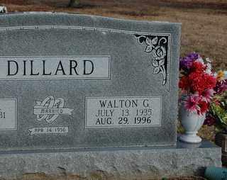 DILLARD, WALTON G - Collin County, Texas   WALTON G DILLARD - Texas Gravestone Photos